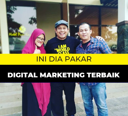 Pakar Manager Digital Marketing Terbaik