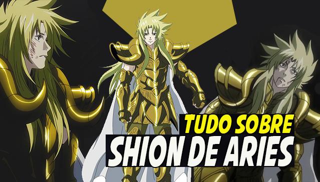 Tudo Sobre SHION DE ARIES - The Lost Canvas Cavaleiros de Ouro