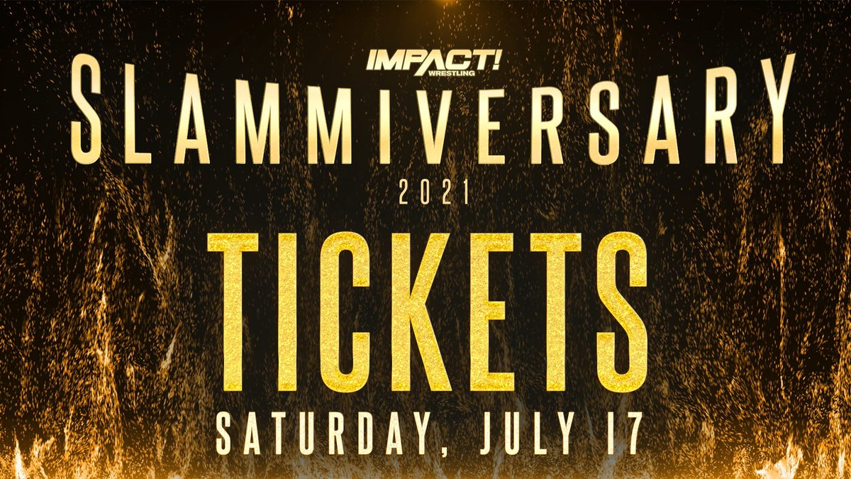 Impact Wrestling receberá fãs para o Slammiversary 2021