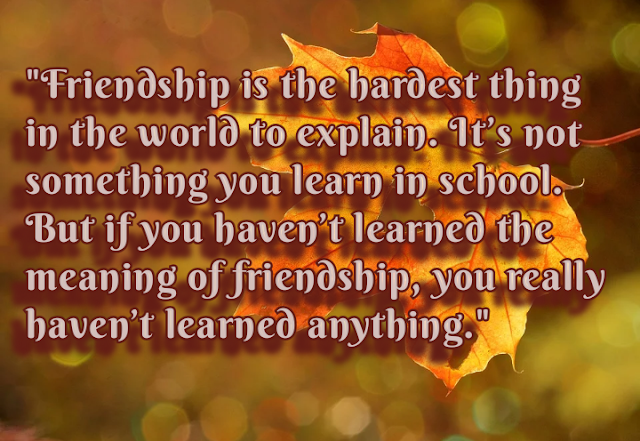 New Quotes of Friendship