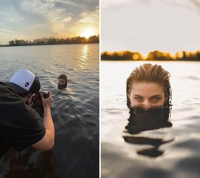 Simple secrets of unusual photos