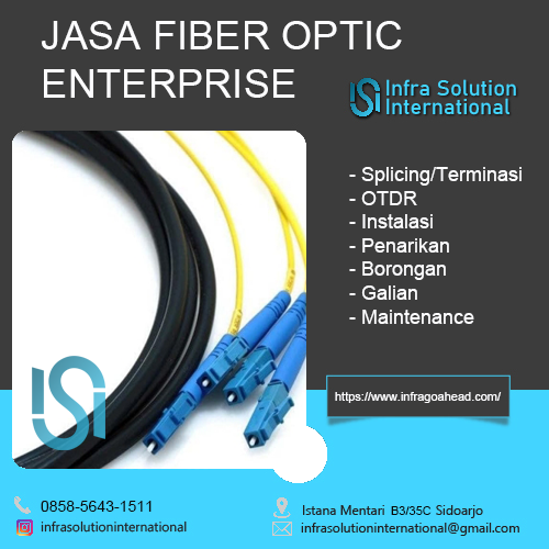 Jasa Splicing Fiber Optic Sumenep Enterprise