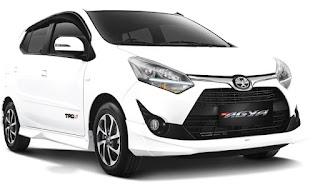 New Agya Toyota Harga OTR di bawah 150 Juta di Pontianak