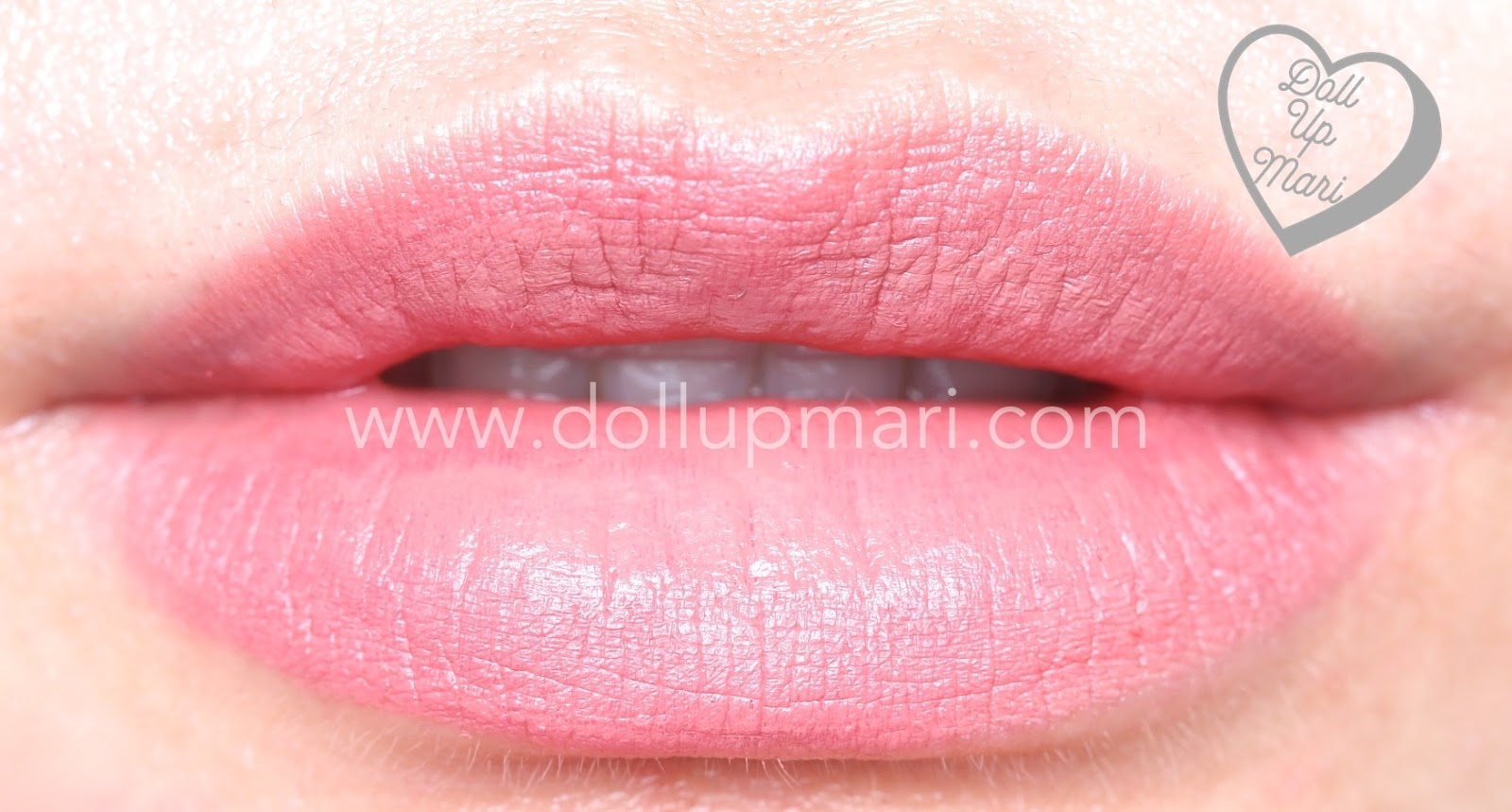 lip swatch of Silkygirl OMG! Powder Matte Lipcolor Lipstick (05-Rosewood)