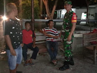 Pasca Lebaran, Piket Koramil 05 Pasar Kliwon Getol Patroli Malam