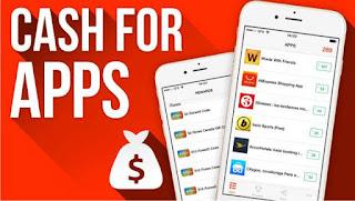 aplikasi penghasil uang cash for apps
