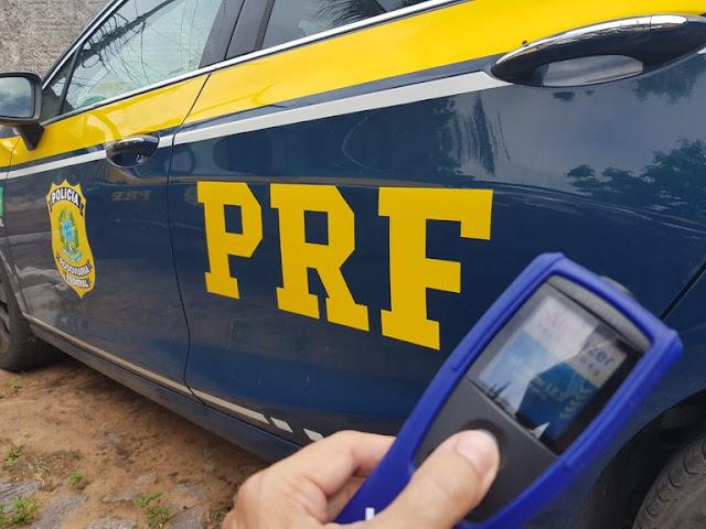 PRF prende condutor por embriaguez ao volante após acidente em Parnamirim, RN