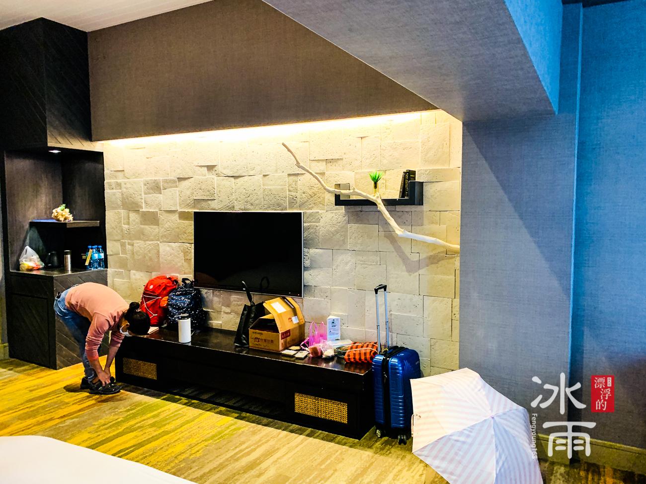 陽明山天籟渡假酒店|電視牆