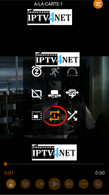 how to fix problem iptv change on vlc mobil