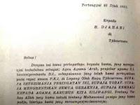 ASTAGHFIRULLAH!! Surat Ancaman PKI Tahun 1953 Sebut Islam Agama Arab, Kok Mirip Saat Ini...