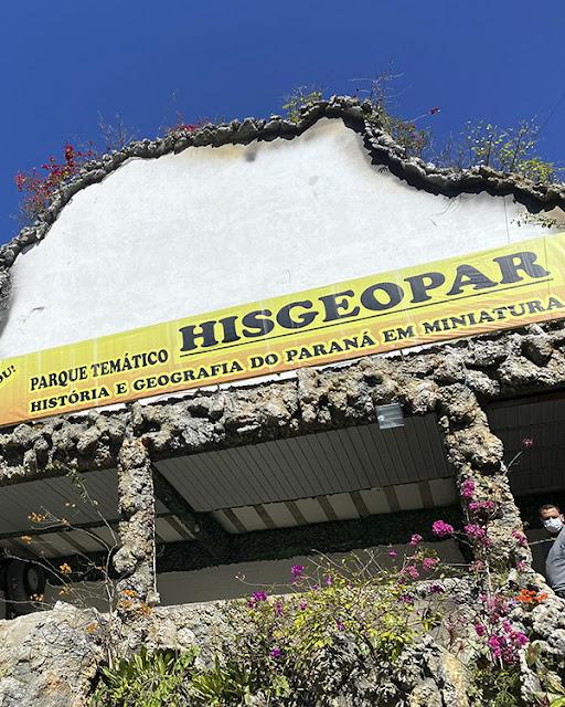 Hisgeopar Parque Temático da história e geografia do Paraná em miniatura