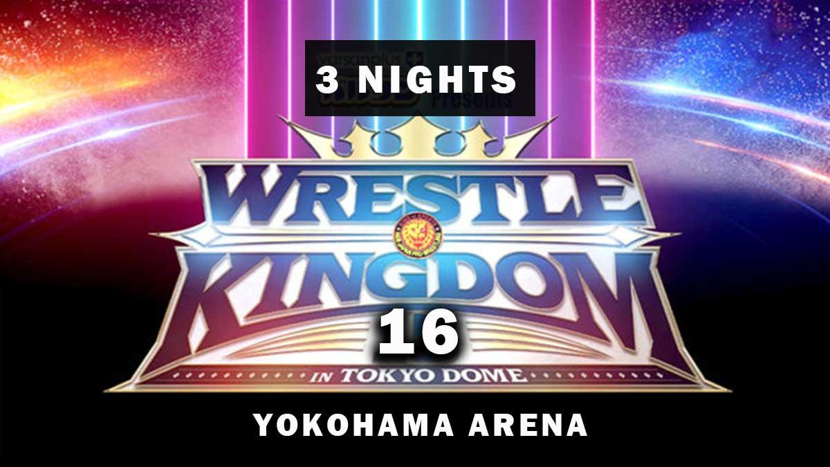 NJPW Wrestle Kingdom 16 será realizado em três noites