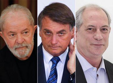 LULA E CIRO GOMES VENCERIAM BOLSONARO EM 2022