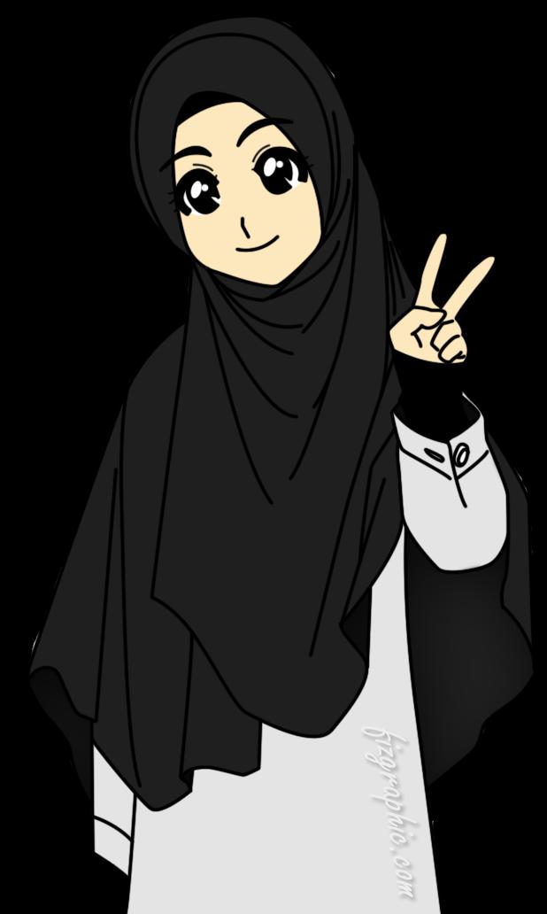 Gambar Nukilan Hatiku 2014 Wassalam Gambar Kartun Muslimah