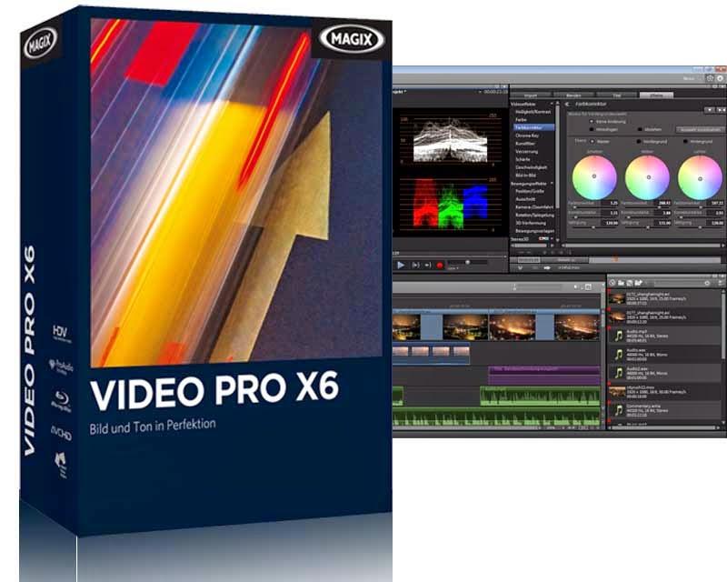 magix video pro x10 system requirements