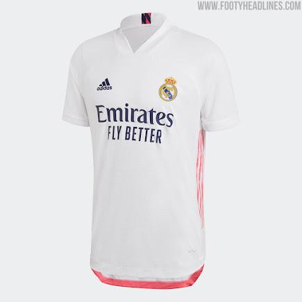 Real Madrid 21-22 Home Kit Released - Footy Headlines