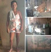 Viúva do homem que cometeu suicídio em Trizidela do Vale está passando fome com as três filhas e precisa de ajuda.