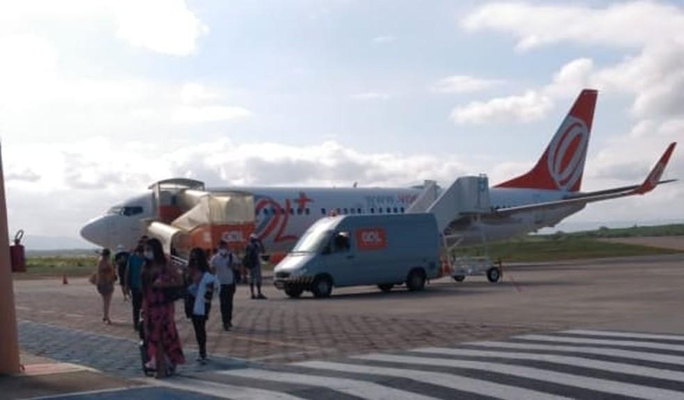 Passageiros ficam sem voo após defeito de aeronave no aeroporto de Juazeiro do Norte, no Ceará