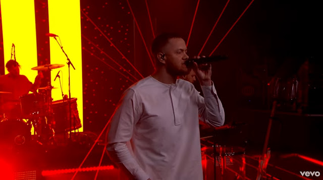 "Imagine Dragons Perform ""Believer"" On Jimmy Kimmel"