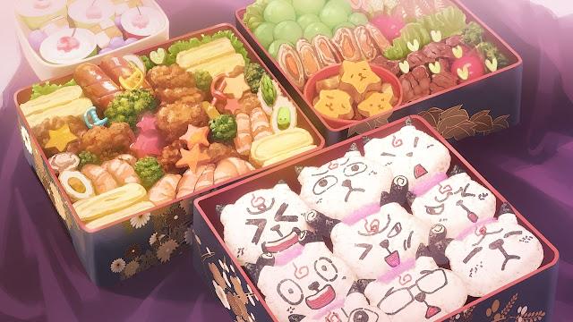 Amazing Bento Boxes (Anime Background)