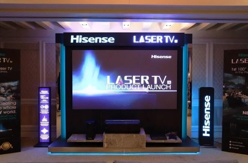 Hisense Brings First 100-inch 4K Laser TV in PH for Only Php745,000