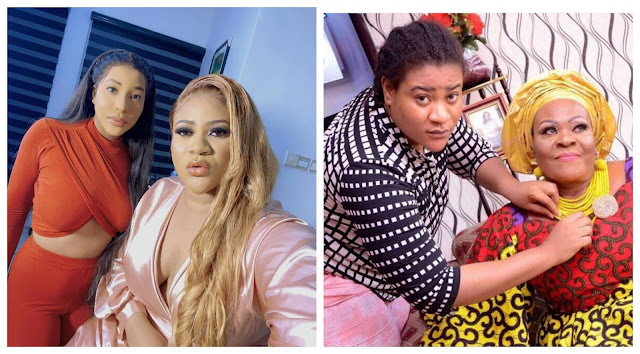 You all will experience it too- Nkechi blessing sister, Ijeoma rain curses on those who are laughing over her mom's death