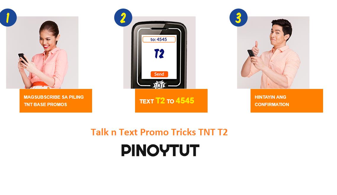 Talk n Text Promo Tricks TNT T2   Pinoytut