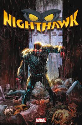 Marvel Nighthawk - Stadt in Flammen | aus dem Panini-Verlag