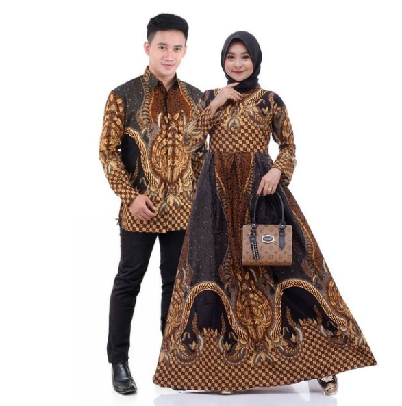 Batik Couple Gamis Termurah