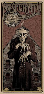 Nosferatu Screen Print by Chris Weston x Vice Press