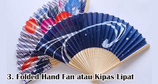 Folded Hand Fan atau Kipas Lipat merupakan salah satu jenis kipas promosi yang cocok untuk dijadikan souvenir
