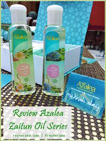 Review Azalea Zaitun Oil Series