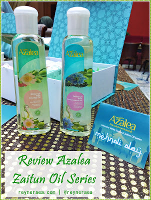 Review Azalea Zaitun Oil Series