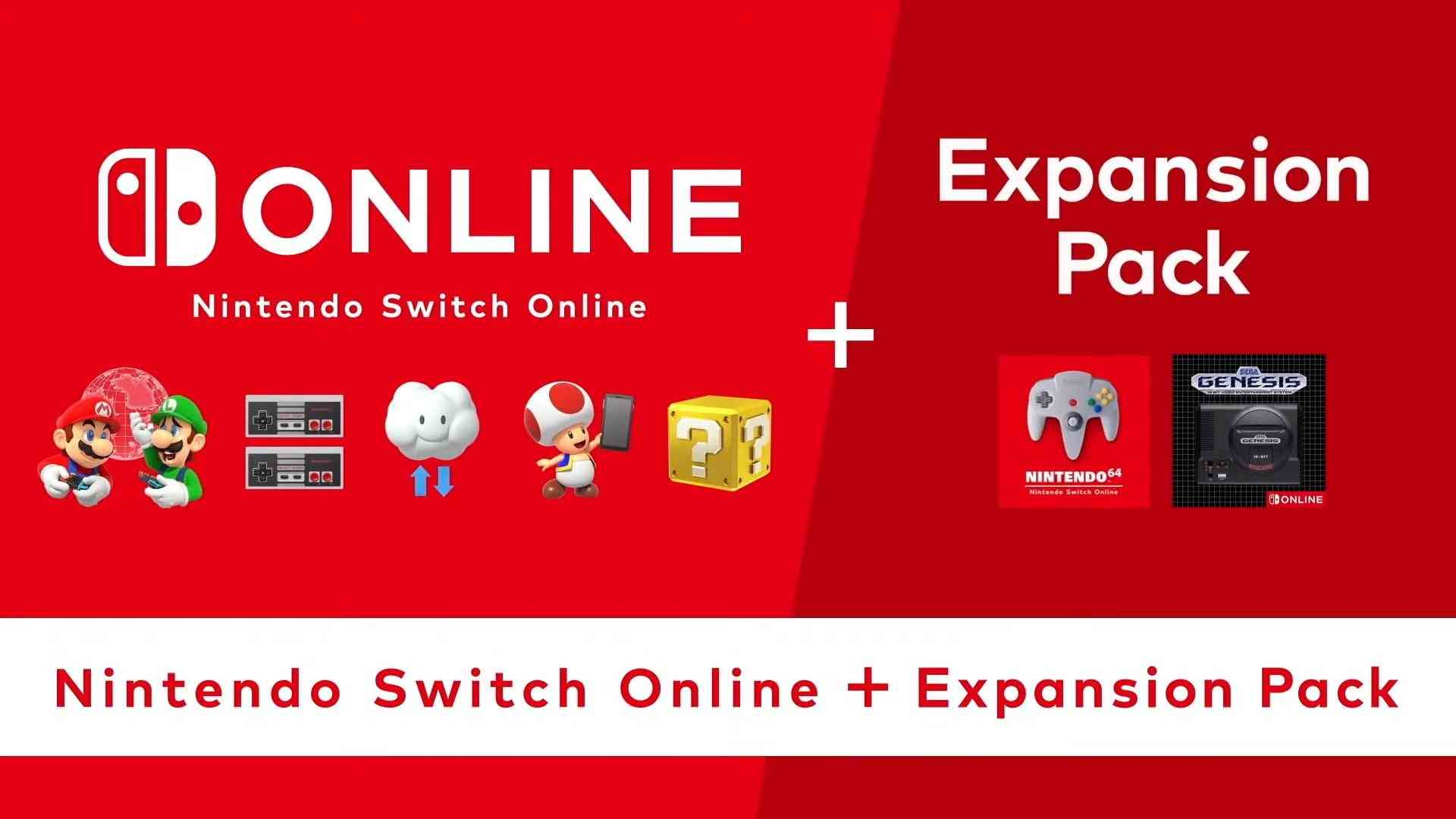 nintendo switch online expansion pass