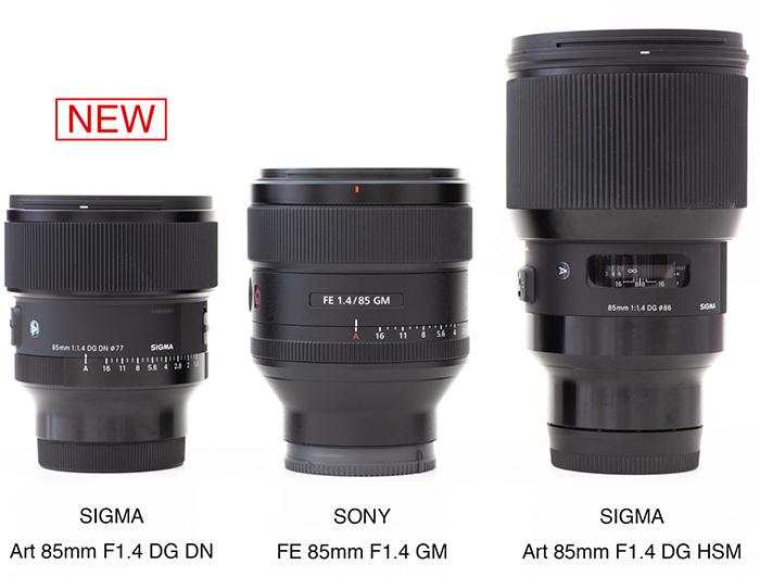 Сравнение объективов Sigma Art 85mm и Sony GM