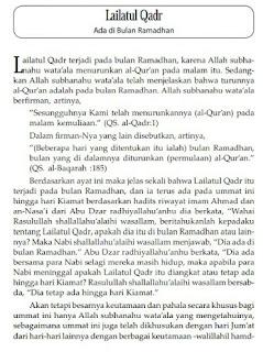 Download Gratis Kitab Seputar Lailatul Qadr PDF