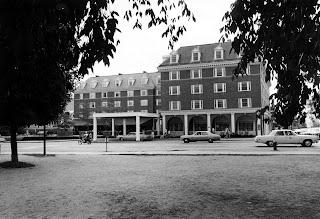 A photograph of the Hanover Inn.