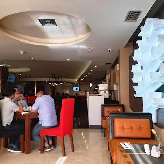 Suasana Sarapan Pagi Hotel Horison Samarinda