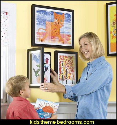 Lil' Davinci Art Frames  playrooms alphabet numbers decorating ideas - educational fun learning letters & numbers decor - abc 123 theme bedroom ideas - Alphabet room decor - Numbers room decor - Creative playrooms educational children bedrooms - Alphabet Nursery - Alphabet Wall Letters - primary color bedroom ideas - boys costumes - girls costumes pretend play - fun playroom furniture