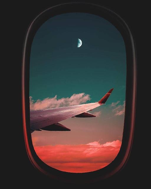 رمزية نافذة طائرة معدلة للتصميم بدون حقوق Window plane