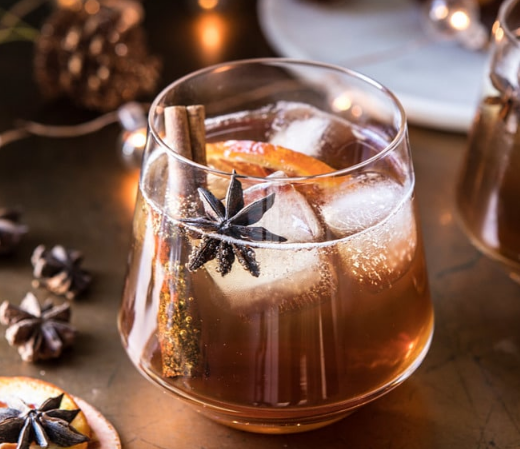 Vanilla Chai Old Fashioned #drink #chaitea #party #sangria #cocktail