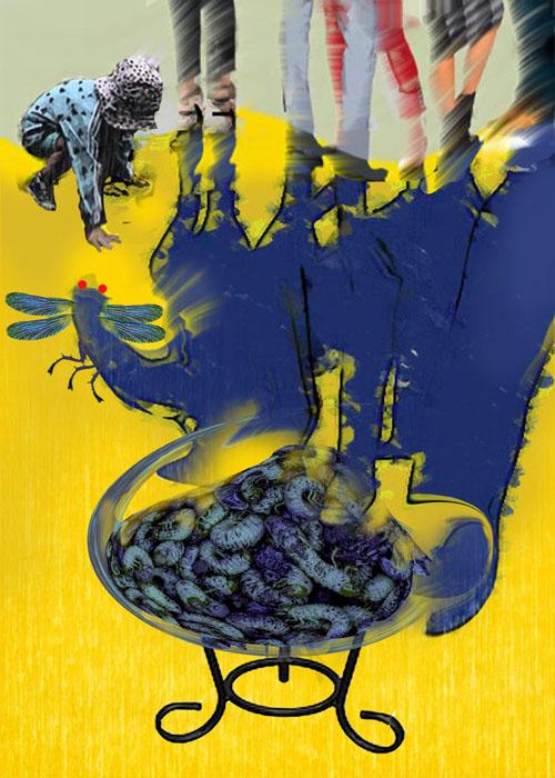 Желто-синий ланч