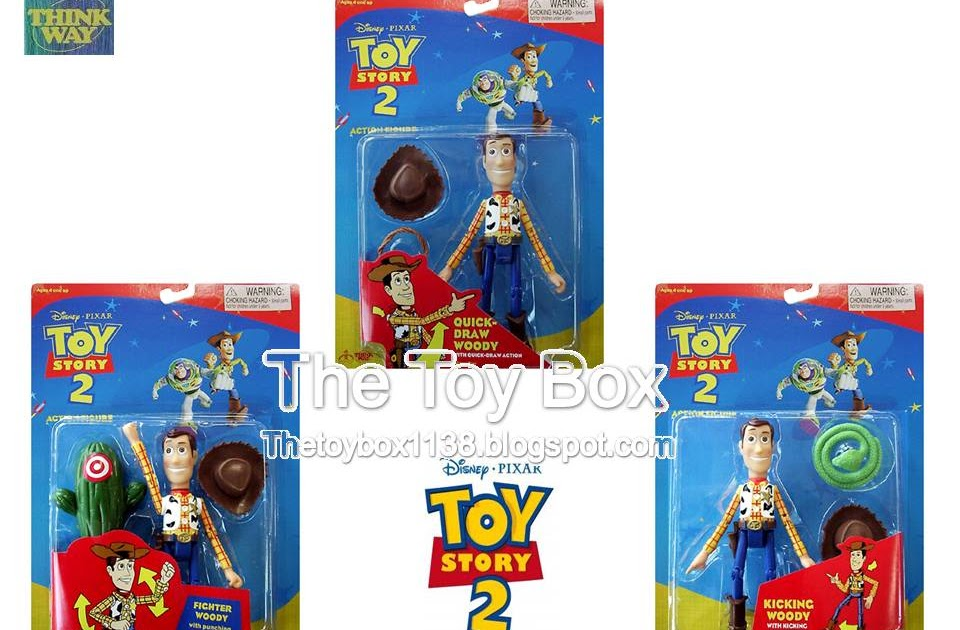 The Toy Box Toy Story 2 Thinkway Toys