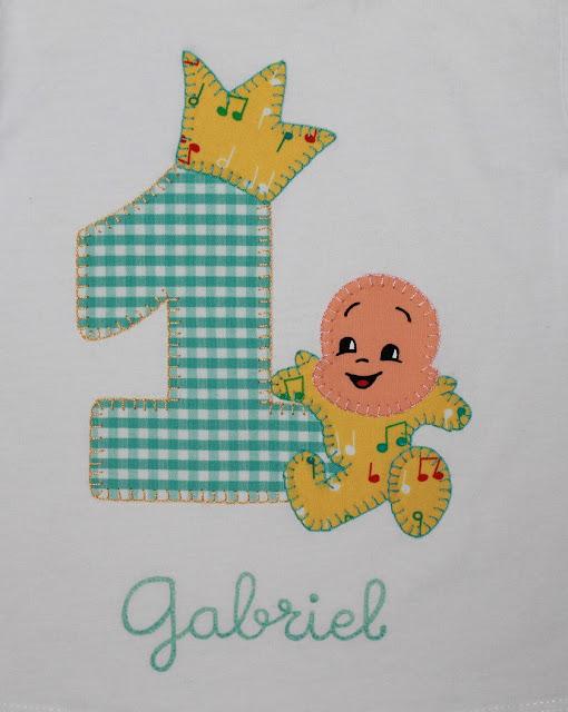 camiseta cumpleaños 1 año cuquin