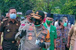 Polda Jateng Dan Jajaran Serentak Bagikan 5,7 Juta Masker Pada Masyarakat