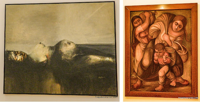 Obras de Alejandro Obregón e Alipio Jaramillo, Coleção de Arte do Banco da República, Bogotá