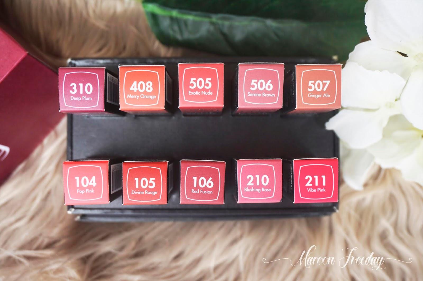 Warna Lipstik Pixy Matte in Love