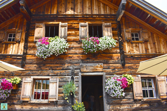 Wallehenhütte en las Dachstein Mountains, Austria