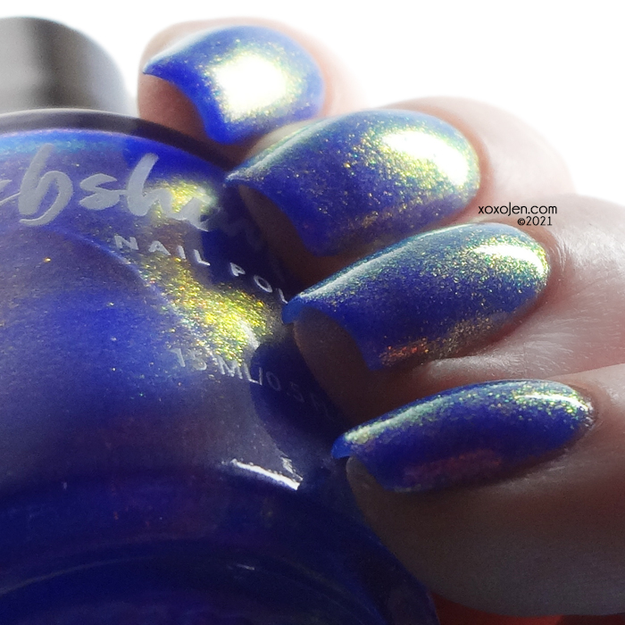 xoxoJen's swatch of KBShimmer Dawn to Earth
