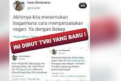 #BoikotTVRI Jadi Trending, Dipicu Kicauan Dirut Iman Brotoseno Soal Bokep